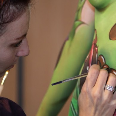 Body painting Amiens