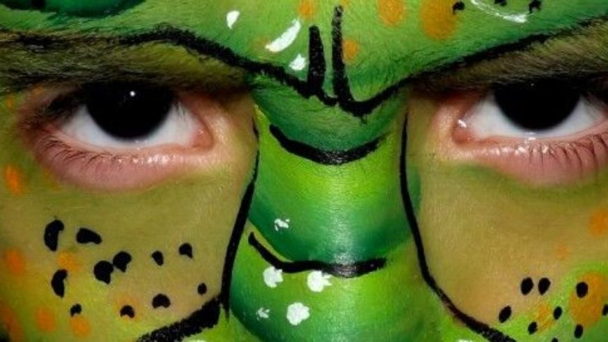 Face painting Monstre